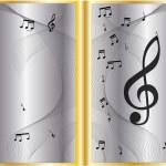 Vector music Cover Design — Stock Vector #9992716