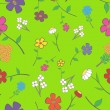 Royalty-Free Stock Vector Image: Floral seamless
