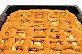 Torta de maçã na panela — Foto Stock