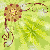 Illustration - flowers — Stock Photo