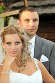 Close-up of marriage — Stock Photo