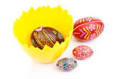 Easter craftmanship — Stock Photo