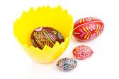 Easter craftmanship — Stock Photo