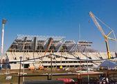 Football stadium — Stockfoto