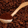 Stock Photo: Spoonful of coffee