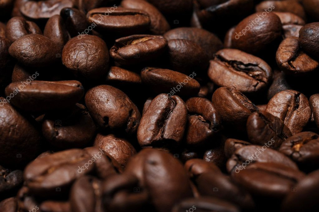 Cofee beans closeup — Stock Photo #7975459