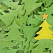 Stock Photo: Christmas trees background