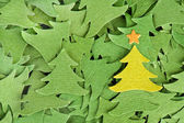 Christmas trees background — Stock Photo