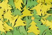 クリスマスの木の背景 — ストック写真