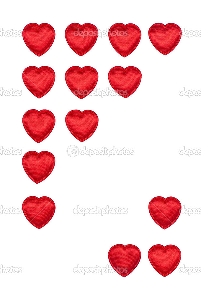 Valentine's hearts border  Stock Photo #8524916