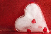 Frozen heart — Stockfoto