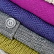 Colorful knitted sweaters — Stock Photo #8770789