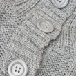 Stock Photo: Grey knitted sweater
