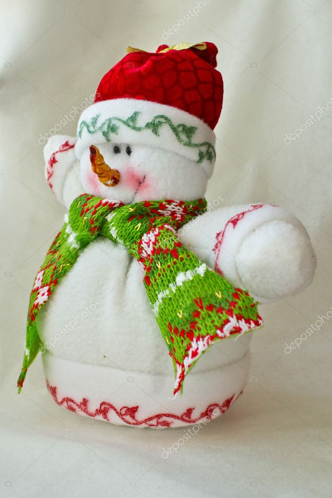 Snowman-toy — Stock Photo #8865935