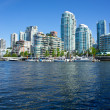 Skyline view of Vancouver, Canada — 图库照片