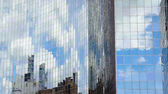 Clouds reflections — Stock Photo