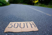 South sign — Stock Photo