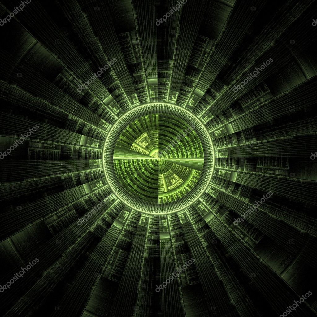 Tech sci-fi circle. Great for your backgrounds and compositions  Stock Photo #8966762
