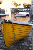 Yellow Boat — Stock Photo