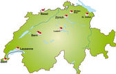 Schweiz_Internet — Stock Vector