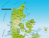 Danmark — Stock Vector