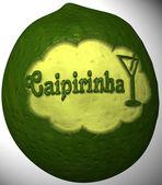 Lime with caipirinha — Stock Photo
