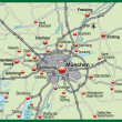 Map of munich — Stockfoto #9074707