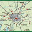 Stockfoto: Map of munich