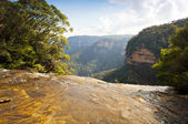 Wentworth Falls — Stock Photo