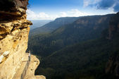 Blue Mountains Walkway — Stock Photo