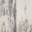 Weathered Paint on Wood — Stock Photo