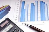 Financování růstu — Stock fotografie