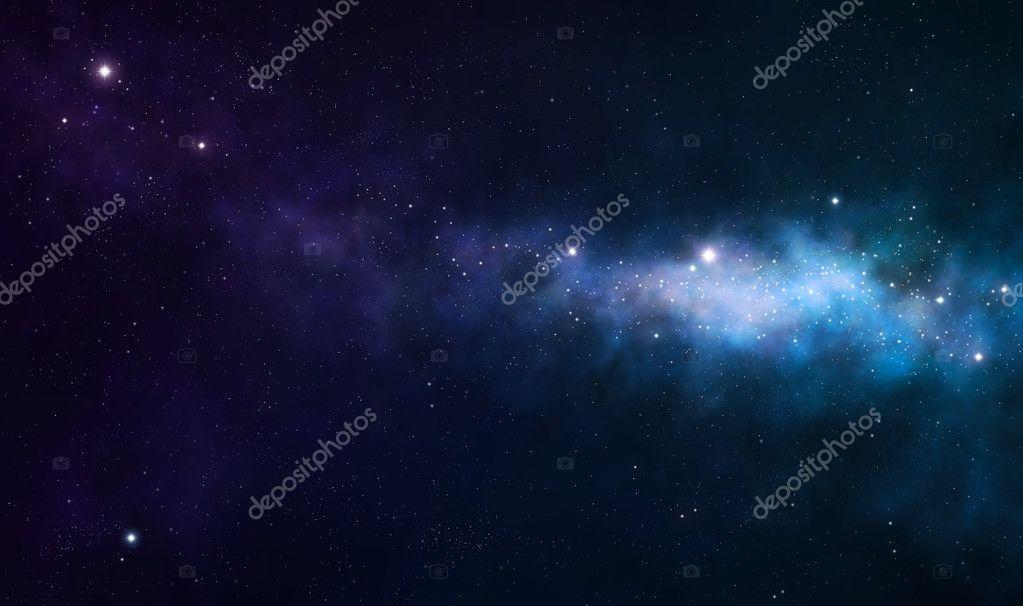 blue and purple nebula - photo #18