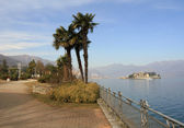 Resort Tresa in Italy — Stock Photo
