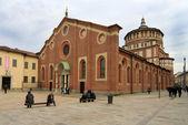 Santa Maria delle Grazie church in Milan — Stock Photo