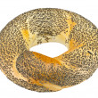 Bagels with poppy seeds - Stock Photo