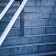Stairs with handrail — Stock Photo