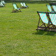 Stock Photo: Lawn chairs