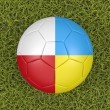 Stock Photo: Euro 2012 soccer ball