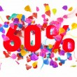 60 percent off — Stock Photo