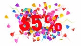 65 percent off — Stock Photo