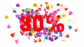80 percent off — Photo