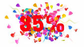 85 percent off — Stock Photo