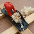 Stock Photo: Carpenters block plane