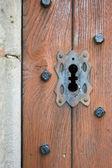 教会のドアをロックします。 — ストック写真