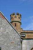 Kostelní věž. — Stock fotografie