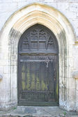 Old church door. — Stock Photo
