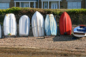 Boats in a row. — Stock Photo