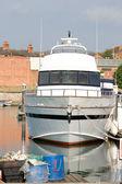Barca in porto — Foto Stock