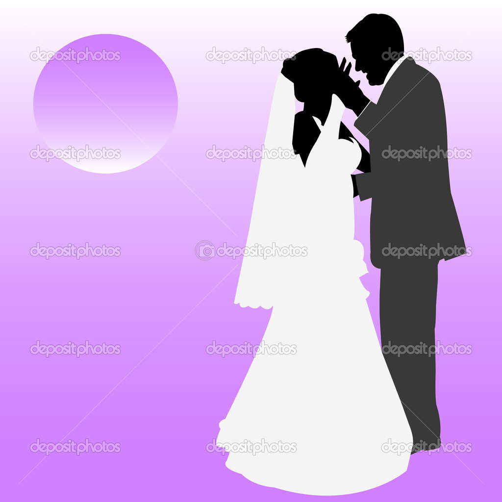 Wedding couple — Stock Vector #10054475